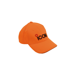 Icom Caps orange