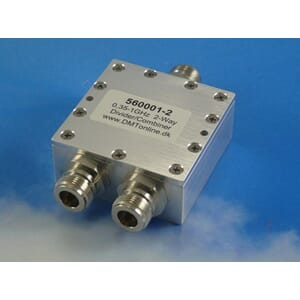 2-Way Power Divider, Combiner 0,35-1GHz, IP 67, 40W, N femal