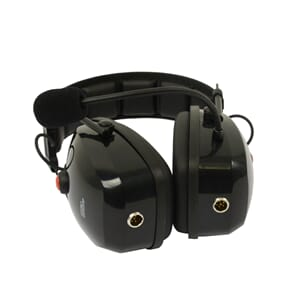 ProEquip Heavy duty noise cancelling headset for 2 radios, 2