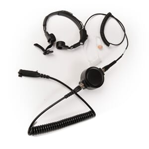 Public Order Throat microphone kit, RAC version