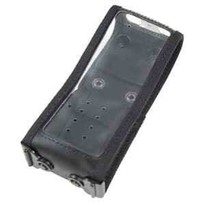 Sepura STP8000 Rugged Leather Case w. ILG stud.