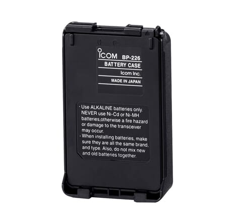 Icom BP-226 Battery Case 5 x AA IC-F51V/61V/M87