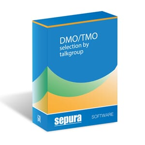 TETRA Radio Software DMO/TMO selection by talkgroup