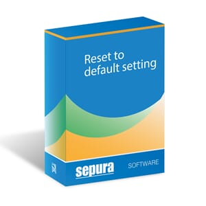 TETRA Radio Software Reset to default setting