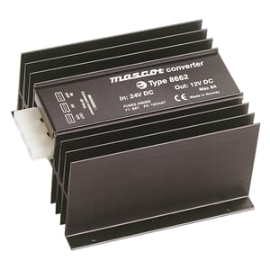 Mascot Power 8662 DC/DC 24/12V- 6 A Converters linear