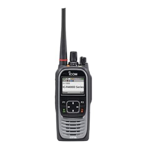 Icom IC-F4400DS IDAS simple keypad, 380-470MHz, 5W, IP68, GP