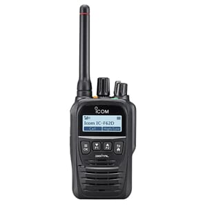 Icom IC-F62D IDAS, 400-470MHz, 5W,IP67, Bluetooth