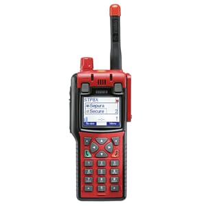 Sepura STP8X040, 407-473MHz, Bluetooth, Man-Down, full keyp